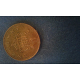 Moneda Del Reyno Unido De One Penny Del 2002 { F }