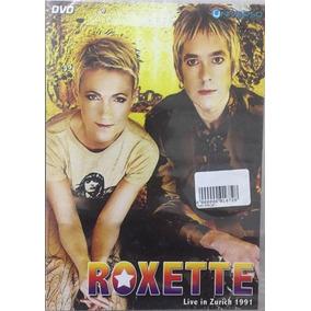 Dvd Roxete Live In Zurich 1991 - Novo Lacrado!!! 3 Un