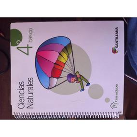 Libro Ciencias Naturales 4° Básico Casa Del Saber Santillana