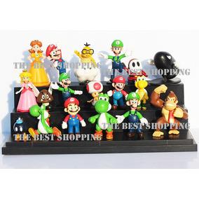 18 Figuras Mario Bros Yoshi Luigui Nintendo Envio Gratis