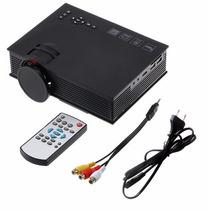 Mini Projetor Wifi 130 Polegadas De Led 1200 Lumens Controle