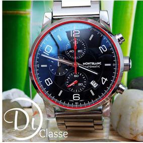 Reloj Montblanc Timewalker Negro + Envio Gratis