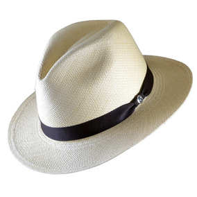 Sombrero Panamá Palma Toquilla Elegante Fino.