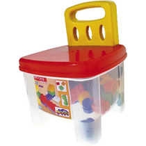 Banquito Ladrillos 72 Bloques New Plast / Open-toys Avell 11