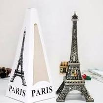 Miniatura Torre Eiffel Paris 13cm Enfeite De Metal