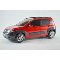Fiat Uno Way Vermelho 1:18 Controle Remoto Seminovo