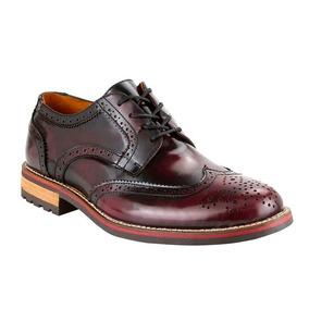 Zapatos 11353 Bostoneanos Oxford Vino Vintage Hipster