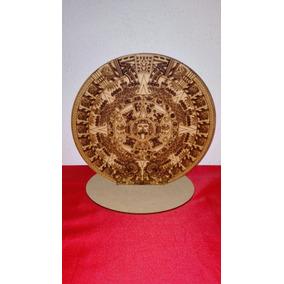 calendario azteca laser d adorno decorativo para el hogar