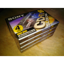 Cassette Audio Sony Cdit-90, Cinta Cromo Type Ii, Made Japan