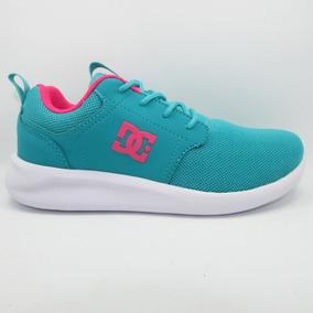 Tenis Dc Shoes Womens Midway Sn Adjs700045 Tel Teal Turquesa