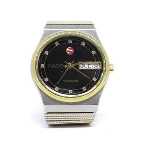 Reloj Rado Voyager Brillantes En Díales Reales Original 4500