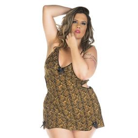 Camisola Sensual Plus Size Lú Pimenta Sexy - 4601