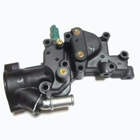 Carcaça Válvula Termostática Peugeot 206 /207/c3 1.4 8v