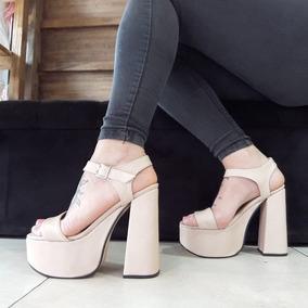 5920e40cae Zapatos Blancos Mujer - Zapatos de Mujer Caqui en Mercado Libre ...