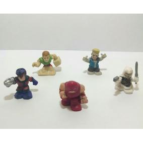 Coleção Marvel Comics Miniatura Lote 5 Bonecos Promoção