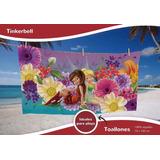 Toallón Tinkerbell Campanita 100% Algodón Disney Piñata