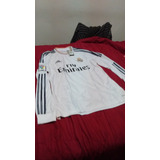 Camiseta Del Real Madrid 2013/14 adidas Manga Larga