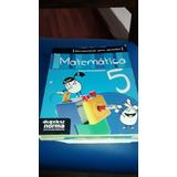 Libro Herramientas Para Aprender 5 Matematica Ed Kapelusz