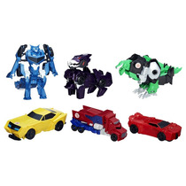 Transformers - 6 Robos - Robots In Disguise - Hasbro - Novo