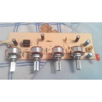 Pre Amplificador Estereo De 3 Bandas