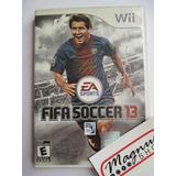 Fifa 13 Nintendo Wii Completo Futbol Usado Envio Gratis