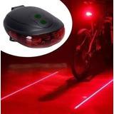 Acessorio Bike Barato Luz De Segurança Para Bicicleta Laiser