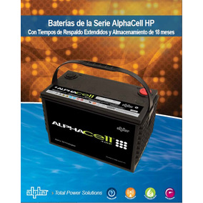 Alphacell 4.0 Hp 103 Ah Bateria 12v
