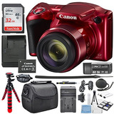 Canon Powershot Sx420 Is ( Rojo ) Con 42x Óptico Zoom Y Con