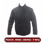 Jaqueta De Couro Sintético Importada Motoqueiro Rock Moto
