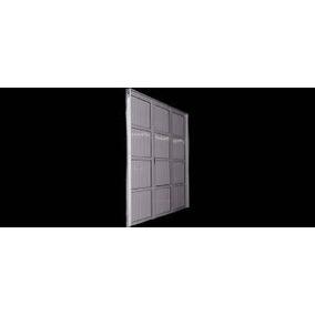 Portón De Aluminio Tablero Acanalado Linea Herrero Reforzado