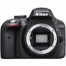 Câmera Nikon Dslr D3300 (apenas Corpo) 24.2 Mp Full Hd