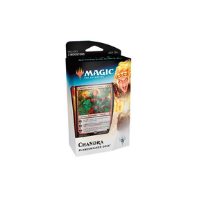 Deck Planeswalker Chandra Dominaria Magic The Gathering