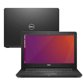 Notebook Dell Vostro 14 3468 Core I3-6006u 4gb Hd 500 Ubuntu