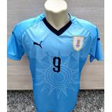 c7df3f21fb Camiseta Oficial Da Seleção Uruguaia De 1990 Copa Da Itália no ...