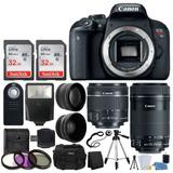 Canon Eos Rebel T7i Slr, Con Lentes Ef-s De 18 A 55 Mm