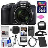 Cámara Digital Con Wi-fi Nikon Coolpix B700 4k Con Batería F