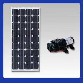 Kit Bomba Dágua Solar Com Painél Fotovoltaico 10w ( Placa )