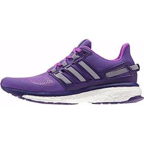 zapatillas adidas de mujer color violeta