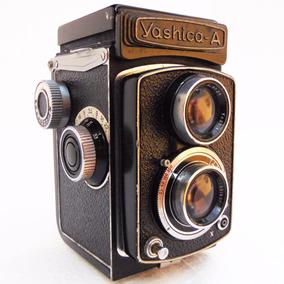 Antiga Maquina Fotográfica Câmera Yashica A Japonesa Foto