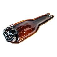 Botella Termoformada Plana Reciclaje De Vidrio Decoración.