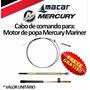 Cabo Comando Motor De Popa Mercury Marine Teleflex 22 Pés