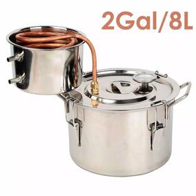 Caldera Destiladora De Agua Y Alcohol Capacidad 8 Litros
