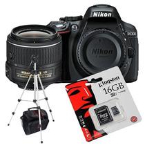 Nikon D5300 Kit 18-55m Vr Wifi+ Tripode+ Bolso+ 16gb+lector