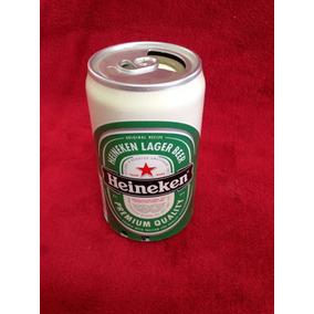 Lata De Cerveja Musical Heineken Com Entrada Pen Drive Nova