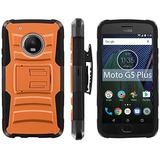 Motorola Moto G5 Plus Teléfono Funda Mobiflare Negro / W116