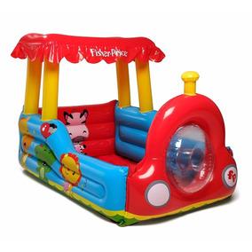 Tren Pelotero Inflable Niños Salta