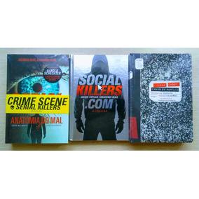 Livro Casos De Família + Serial Killers + Social Killers