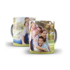 Caneca De Porcelana Personalizada Com A Sua Foto - Oferta!!!