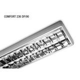 Plafon Lumenac Comfort 2x36w - Completo Con Tubos Instalados
