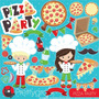 Kit Scrap Imagenes Pizza Party 28 Png 2x1 Pgk